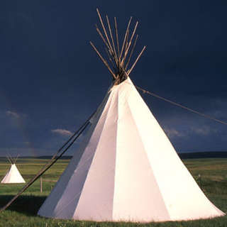 Lodgepole Gallery and Tipi Village