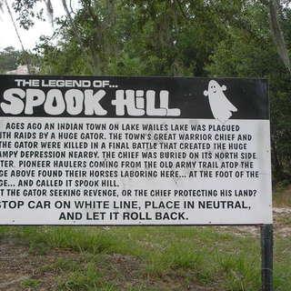 Spook Hill, Lake Whales Fl.