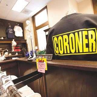 Skeletons in the Closet (Coroner's Gift Shop)