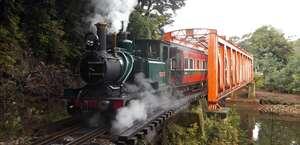 West Coast Wilderness Railway - Strahan Departures