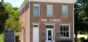 Bank of Florence Historical Marker