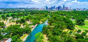 Barton Natural Springs Pool Austin Texas
