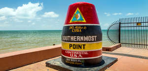 Southernmost Point Buoy (90m To Cuba)