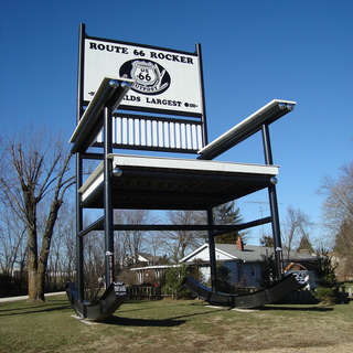 World's (Second) Largest Rocking Chair