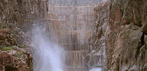 The Buffalo Bill Dam Visitor Center