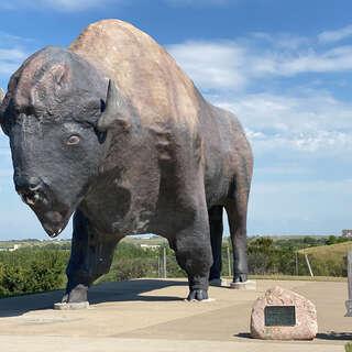 Worlds Largest Buffalo Monument