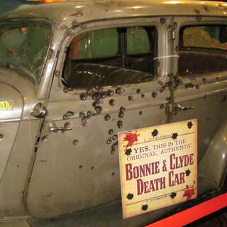 Bonnie and Clyde's Death Car