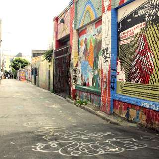 The Clarion Alley Mural Project