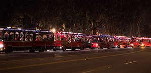 Santa Barbara Trolley of Lights Tour