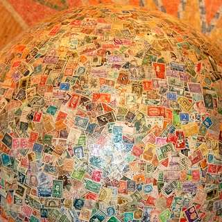 Largest Ball of Stamps