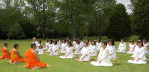 Buddhist Meditation Temple