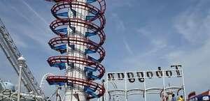 Tidal Wave Roller Coaster   Trimper's Rides