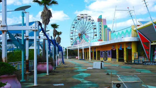 Six Flags New Orleans Abandoned New Orleans La Roadtrippers,New York City Wedding