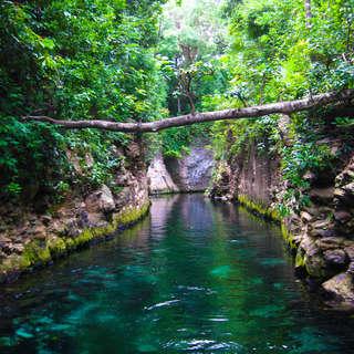 Xcaret Underground River