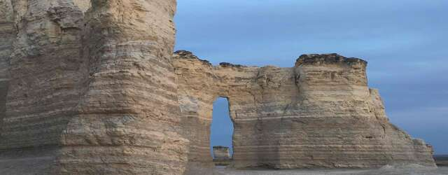 Monument Rocks and Chalk Pyramids