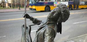 Bronze Statue of Jimi Hendrix