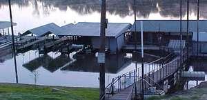 Riverfront Marina On The Ouachita River