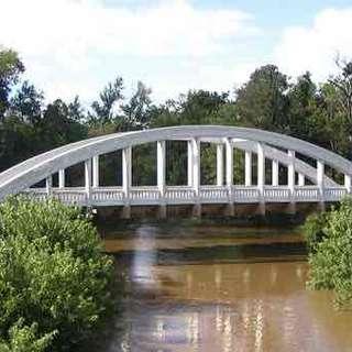 Marsh Arch Brush Creek Bridge