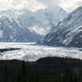 The Matanuska Glacier State Recreation Site