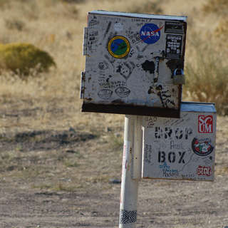 The Black Mailbox (Area 51) - GONE