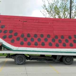 World's Largest Watermelon