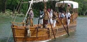 Lewis & Clark Keelboat Display