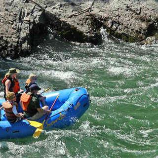 Charlie Sands Wild Water River