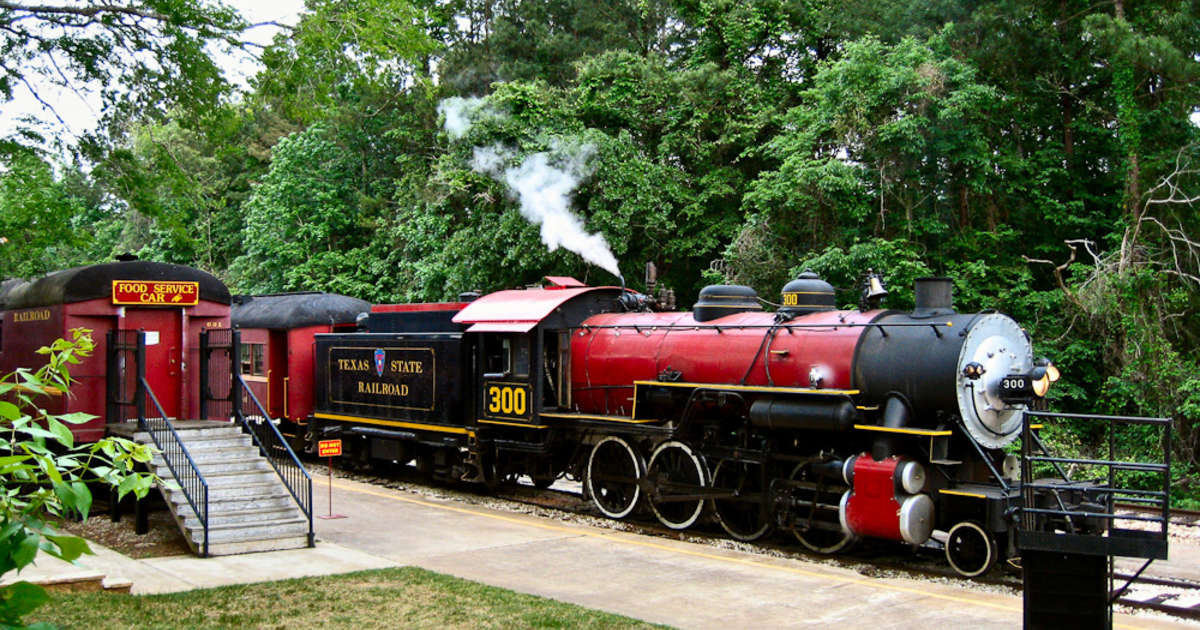 Texas State Railroad Campground, Rusk   Roadtrippers