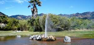 Old Faithful Geyser of California