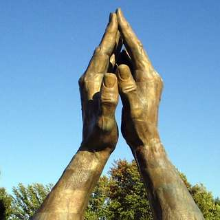 World's Largest Praying Hands