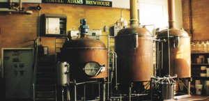 Samuel Adams Brewery Tour Line