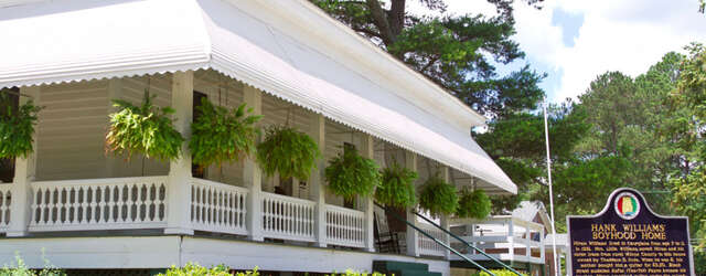 Hank Williams Boyhood Home & Museum