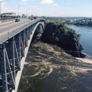 Reversing Falls of St. John
