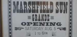 Marshfield Sun Printing Museum