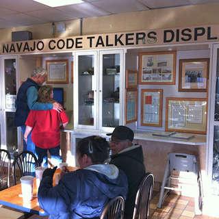 Navajo Code Talkers Display