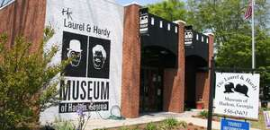 The Laurel and Hardy Museum of Harlem, Georgia