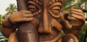 Large Tiki Statue