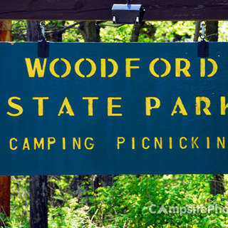 Woodford State Park Campground