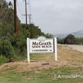 McGrath State Beach Campground