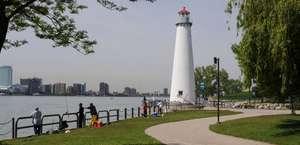 William G. Milliken Park   Detroit River Front