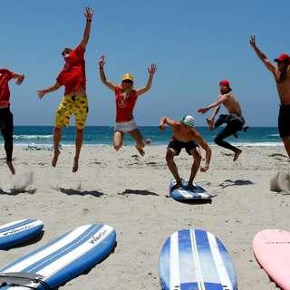 Mission Beach Surf school