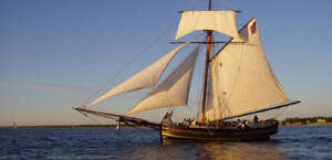 Friends Good Will Tall Ship: Passenger Sails and Dockside Boarding