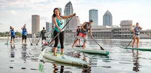 Urban Kai Stand-Up Paddleboarding