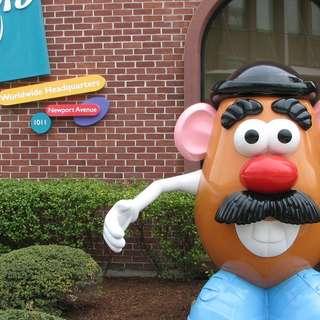 Mr. Potato Head Statues