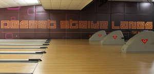Desert Strike Bowling Alley