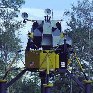 Lunar Lander Exhibit